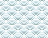 Half circles seamless pattern