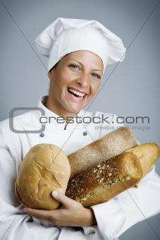 happy baker
