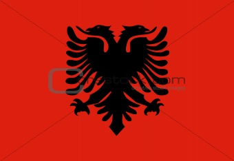 Flag of Albania,