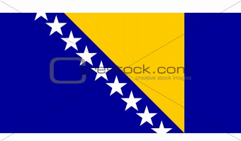 Flag of Bosnia Hertzigovina