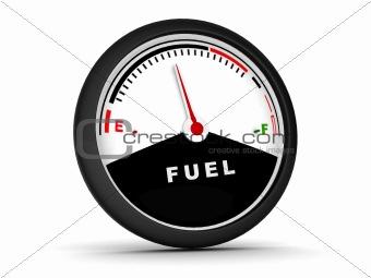 circular fuel gauge