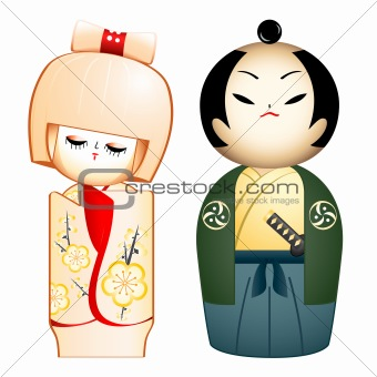Geisha and Samurai
