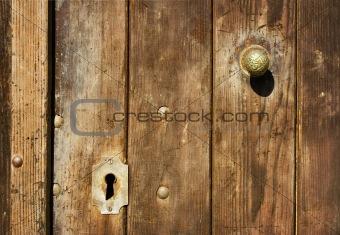 Old rusty doors