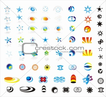 90 More corporate logo design elements