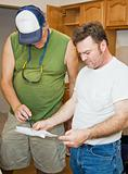 Contractors Check Plans