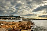 Cloudy morning in Cannes