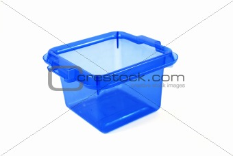 blue bin