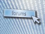 Forum button