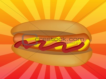 Hotdog illustration