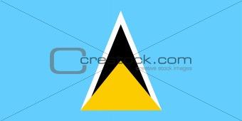 Flag of Saint Lucia