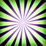 Radial zoom burst