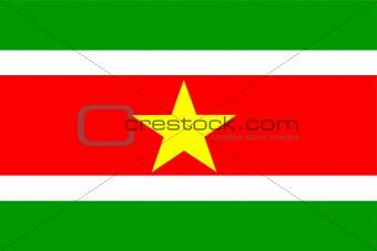 Flag of Suriname