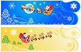 Cute Christmas banners.