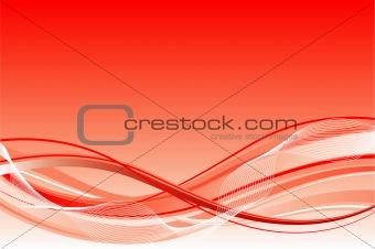 Wave background, vector