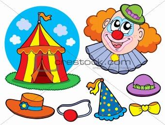 Circus clown collection