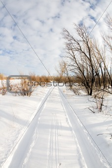 road in winter