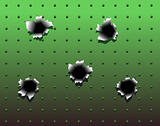 Bullet holes