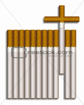 Cigarette cross