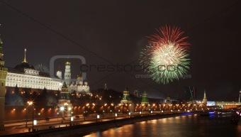 Firework near the Kremlin #2