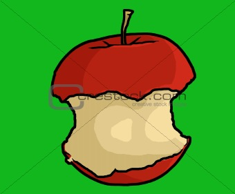 Apple Core Illustration