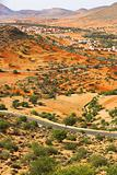 Desert landcape (Morocco).