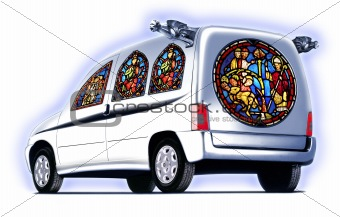 church-car