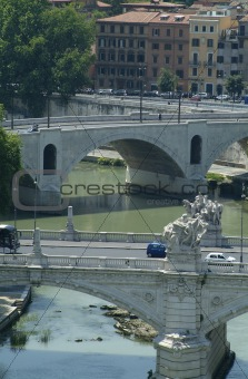 Bridges in Rome