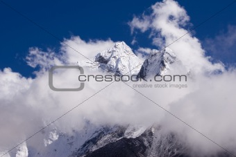 Amphu Gyabjen and Ama Dablam