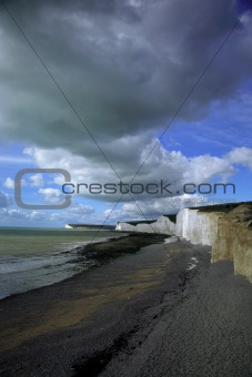 Beach at Birling Gap