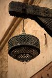 Lamp in Moroccan Medina