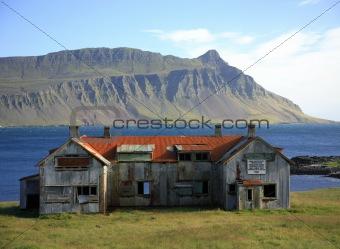 Derelict building Iceland