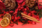 Mandarin,Cloves & Cinnamon pot pourri