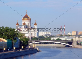 Cathedral of the Christ of the Savior and river