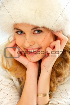 Winter Fashion Portrait