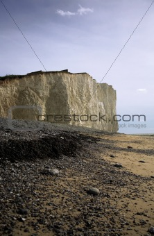 Cliffs on the East Coast of England