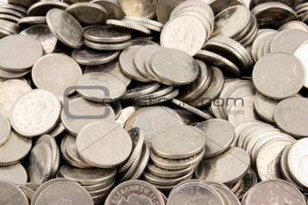 Money - 5 Pence Pieces