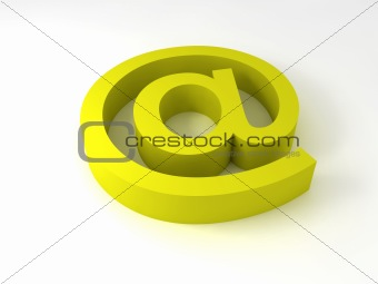 alpha-mail (yellow)