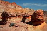 Rust Colored Rock Formations