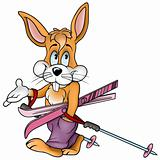 Rabbit Skier