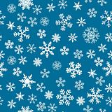 Snow Seamless Vector Background