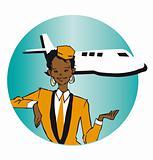 job series_ stewardess