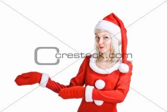 Christmas beauty Santa Claus