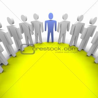 Work group / session illustration