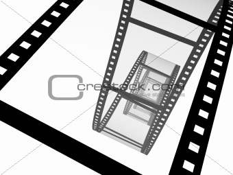 3d abstract photographic film