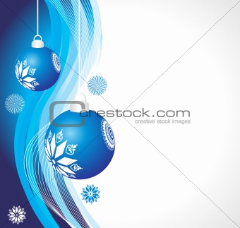 abstract background of christmas ornamented, design10