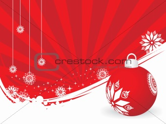 abstract background of christmas ornamented, design11