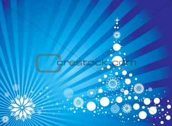 abstract background of christmas ornamented, design2