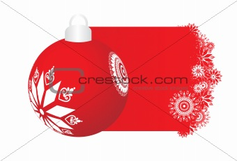abstract background of christmas ornamented, design4