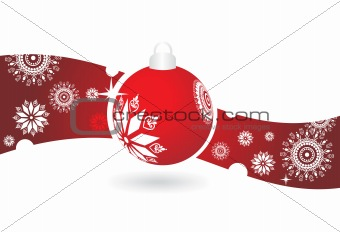 abstract background of christmas ornamented, design5