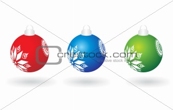 abstract background of christmas ornamented, design6